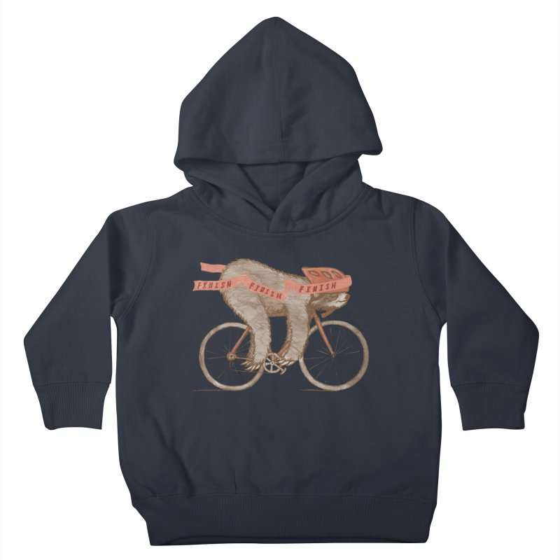 FINISH Kids Toddler Pullover Hoody by gotoup's Artist Shop