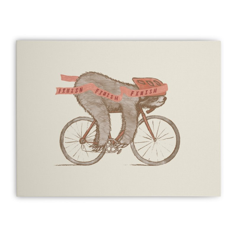 FINISH Home Stretched Canvas by gotoup's Artist Shop
