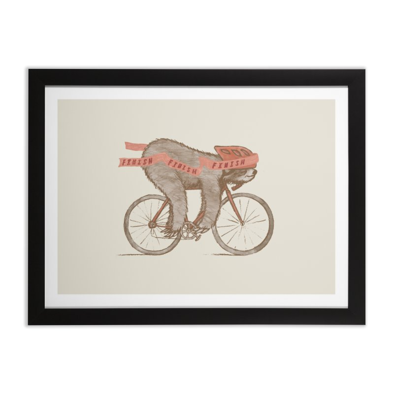 FINISH Home Framed Fine Art Print by gotoup's Artist Shop