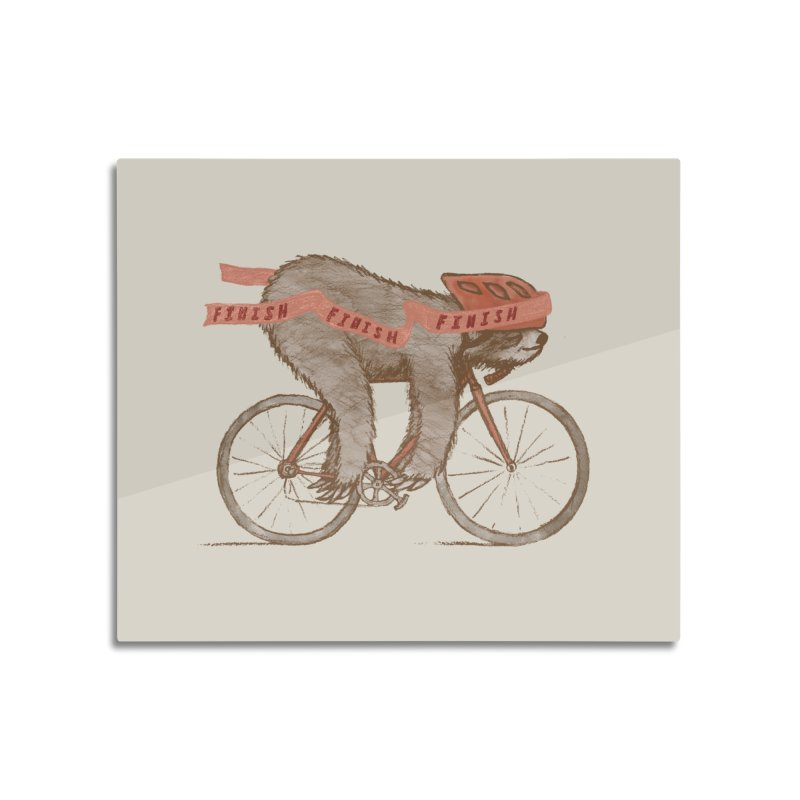 FINISH Home Mounted Aluminum Print by gotoup's Artist Shop