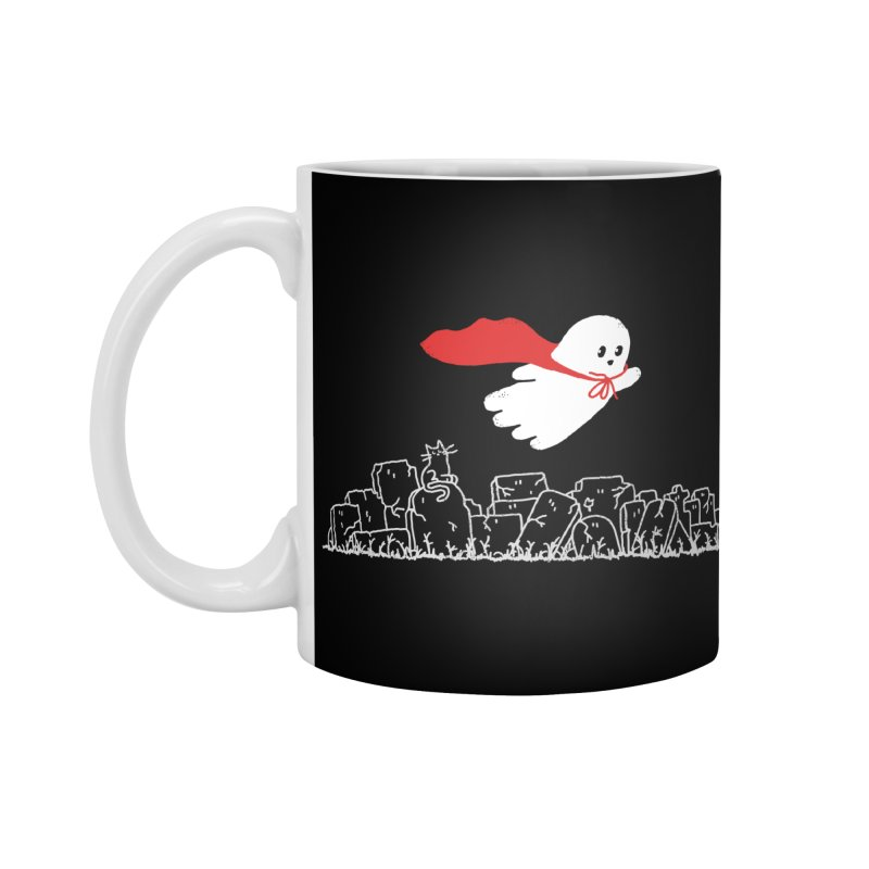 GHOST HERO Accessories Standard Mug by gotoup's Artist Shop