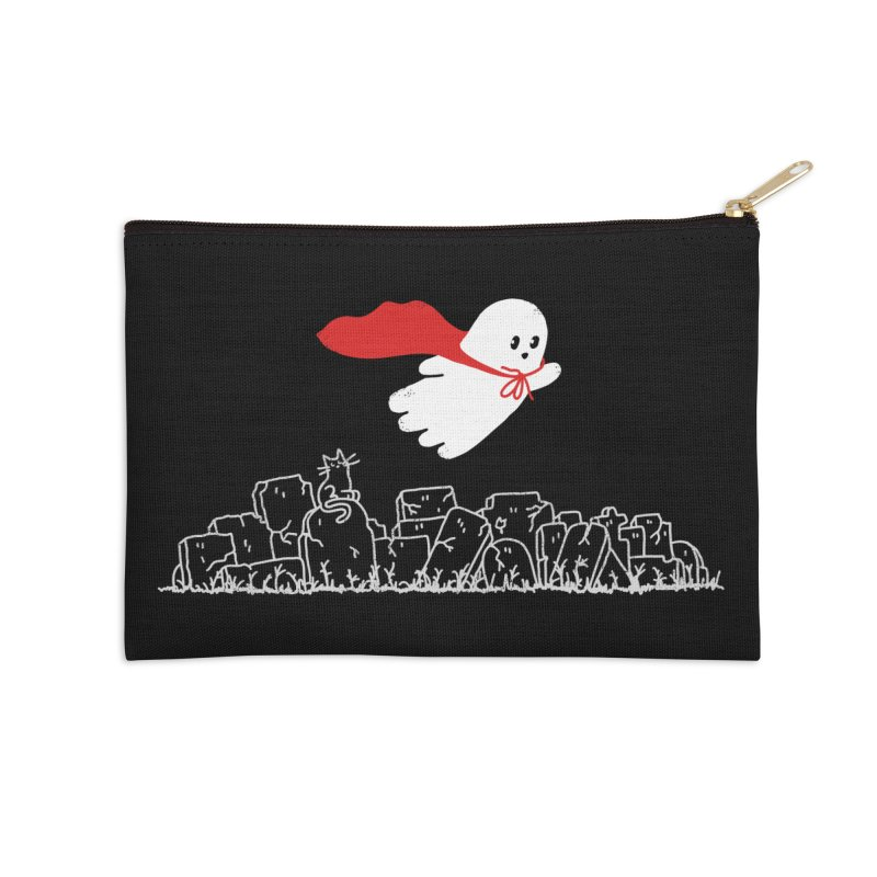 GHOST HERO Accessories Zip Pouch by gotoup's Artist Shop