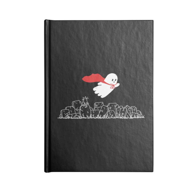 GHOST HERO Accessories Blank Journal Notebook by gotoup's Artist Shop
