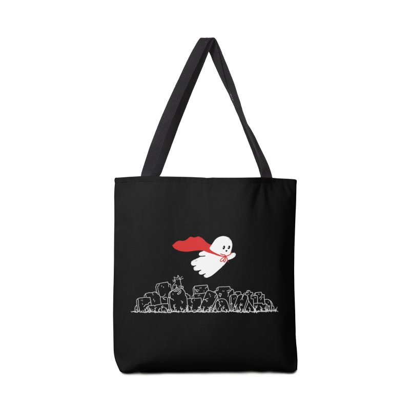 GHOST HERO Accessories Tote Bag Bag by gotoup's Artist Shop