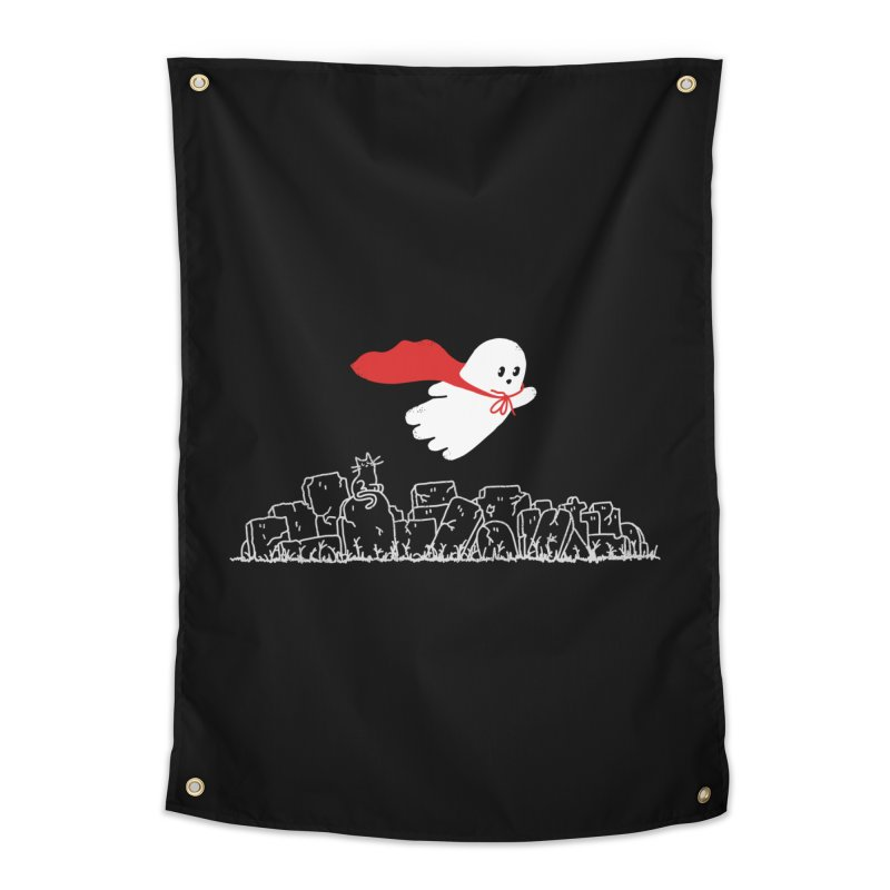 GHOST HERO Home Tapestry by gotoup's Artist Shop