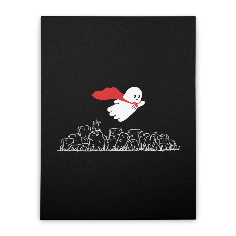 GHOST HERO Home Stretched Canvas by gotoup's Artist Shop
