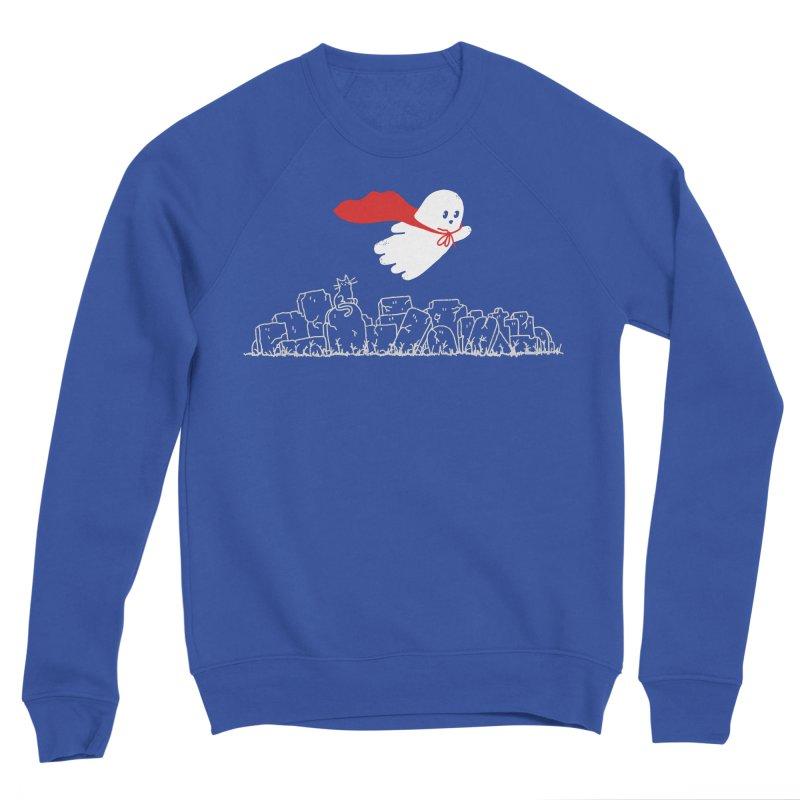 GHOST HERO Men's Sponge Fleece Sweatshirt by gotoup's Artist Shop