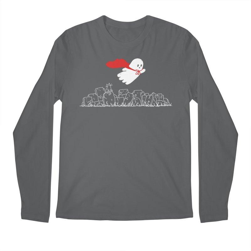 GHOST HERO Men's Regular Longsleeve T-Shirt by gotoup's Artist Shop
