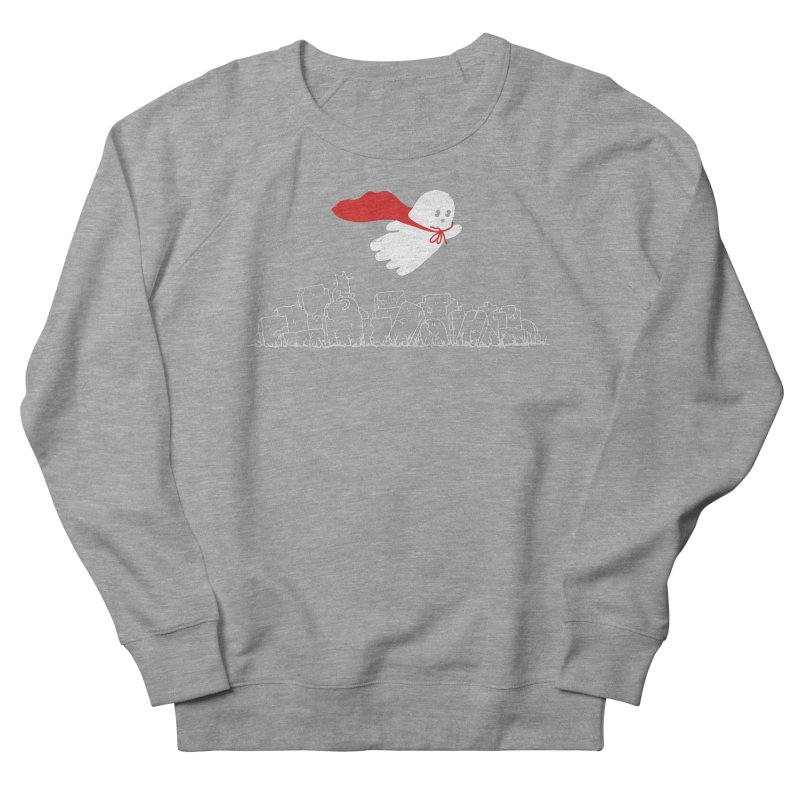 GHOST HERO Men's French Terry Sweatshirt by gotoup's Artist Shop