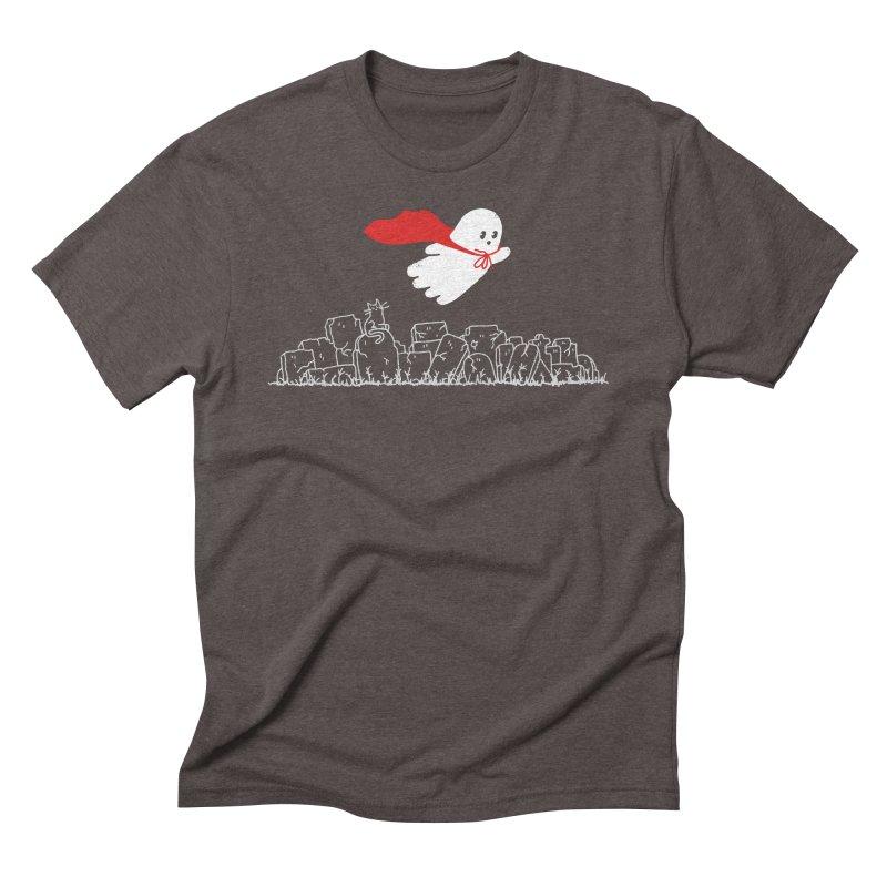 GHOST HERO Men's Triblend T-Shirt by gotoup's Artist Shop