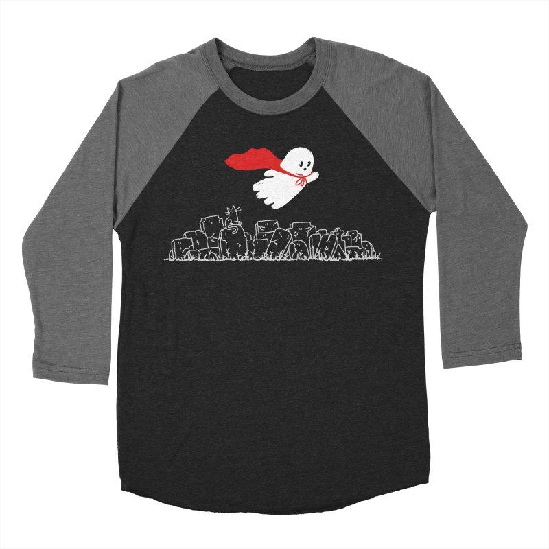 GHOST HERO Men's Baseball Triblend Longsleeve T-Shirt by gotoup's Artist Shop
