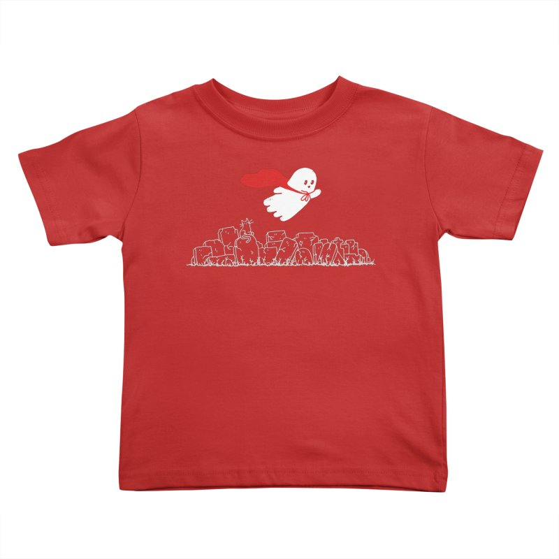 GHOST HERO Kids Toddler T-Shirt by gotoup's Artist Shop