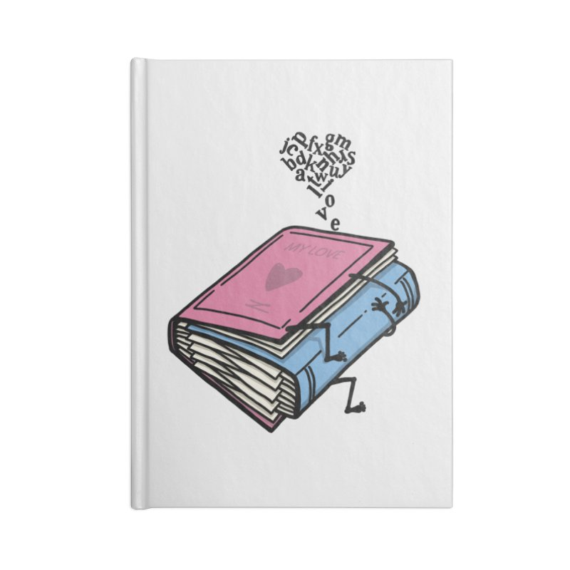 love books Accessories Blank Journal Notebook by gotoup's Artist Shop
