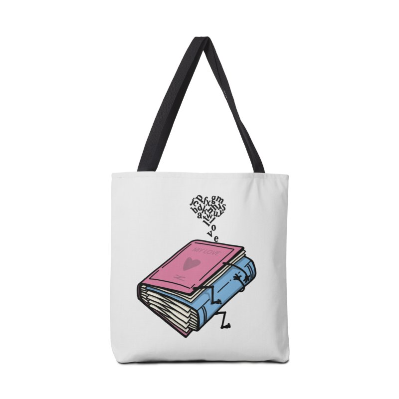 love books Accessories Tote Bag Bag by gotoup's Artist Shop