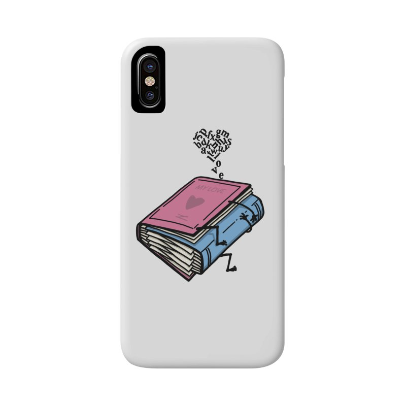love books Accessories Phone Case by gotoup's Artist Shop
