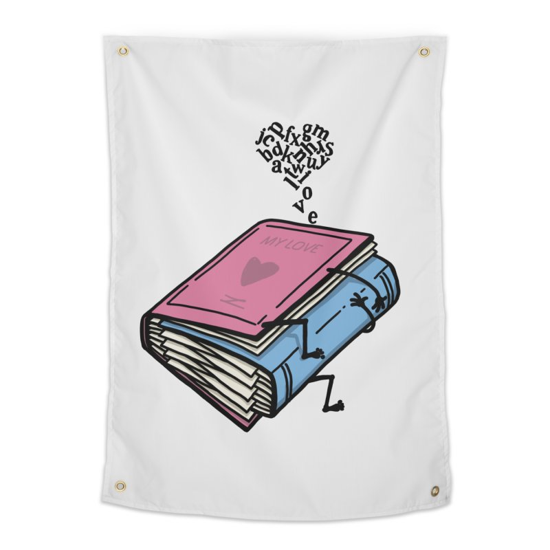 love books Home Tapestry by gotoup's Artist Shop