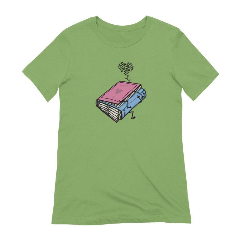 love books Women's Extra Soft T-Shirt by gotoup's Artist Shop