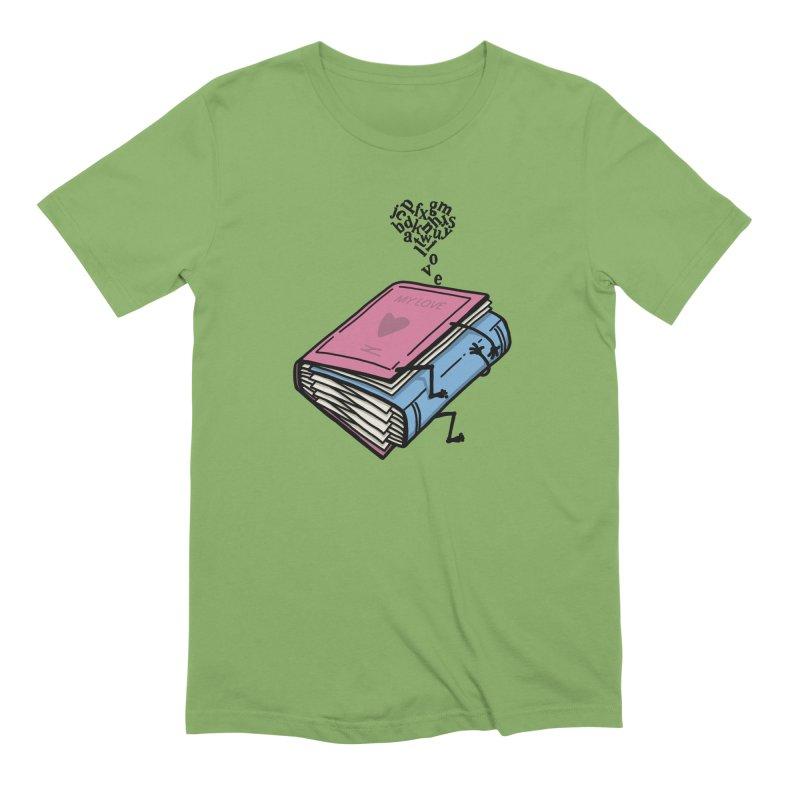 love books Men's Extra Soft T-Shirt by gotoup's Artist Shop