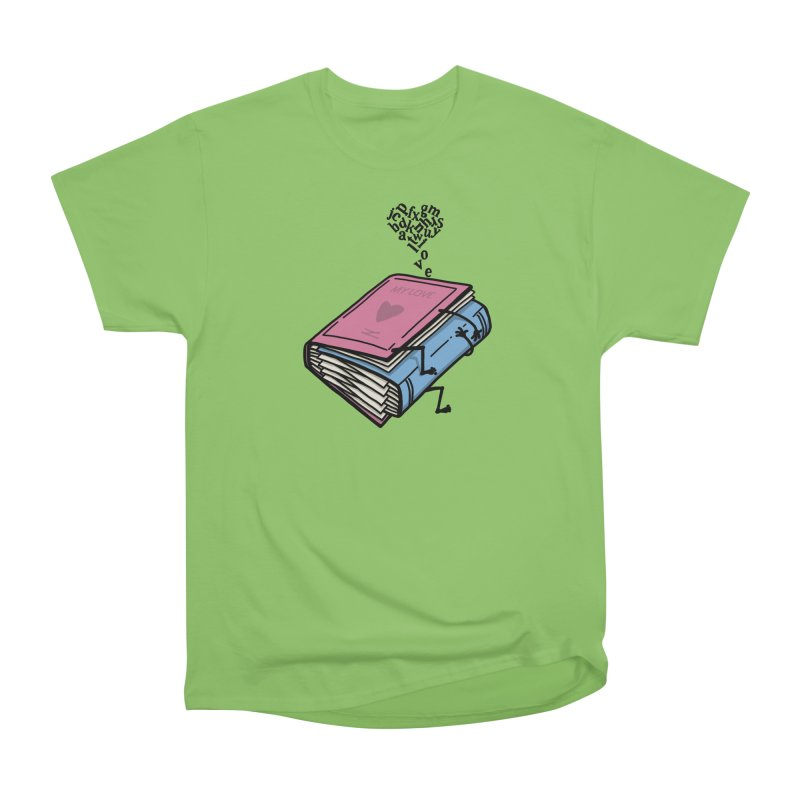 love books Men's Heavyweight T-Shirt by gotoup's Artist Shop