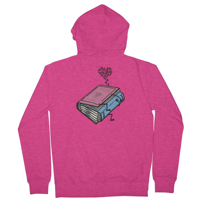 love books Women's French Terry Zip-Up Hoody by gotoup's Artist Shop
