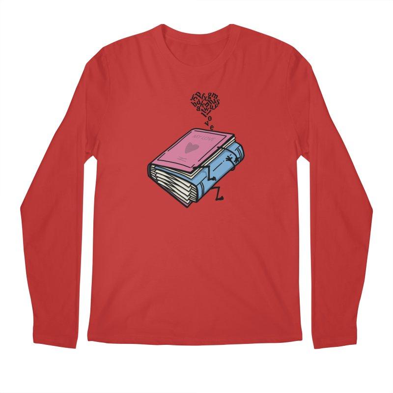 love books Men's Regular Longsleeve T-Shirt by gotoup's Artist Shop