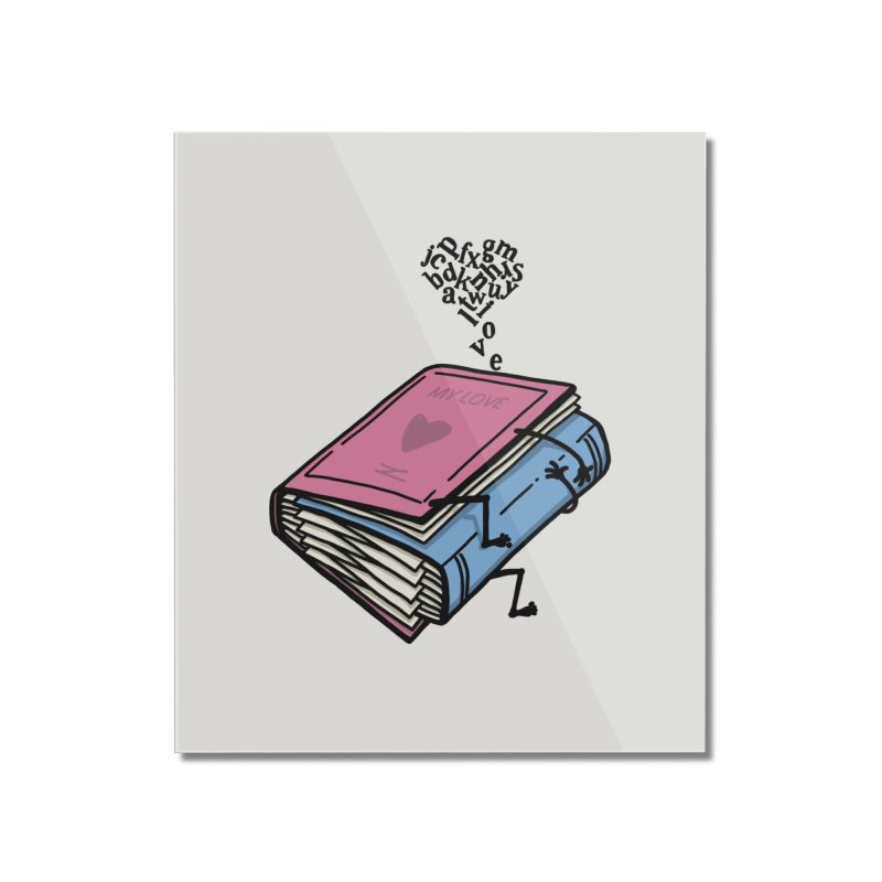 love books Home Mounted Acrylic Print by gotoup's Artist Shop