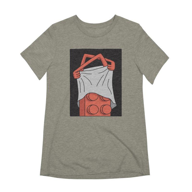 STRIP Women's Extra Soft T-Shirt by gotoup's Artist Shop