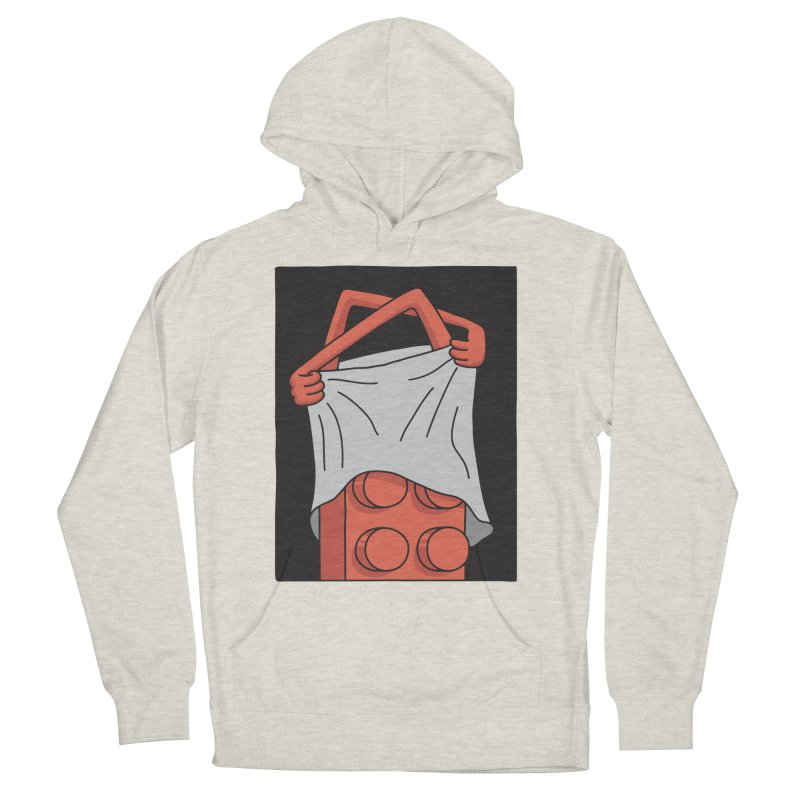STRIP Women's French Terry Pullover Hoody by gotoup's Artist Shop