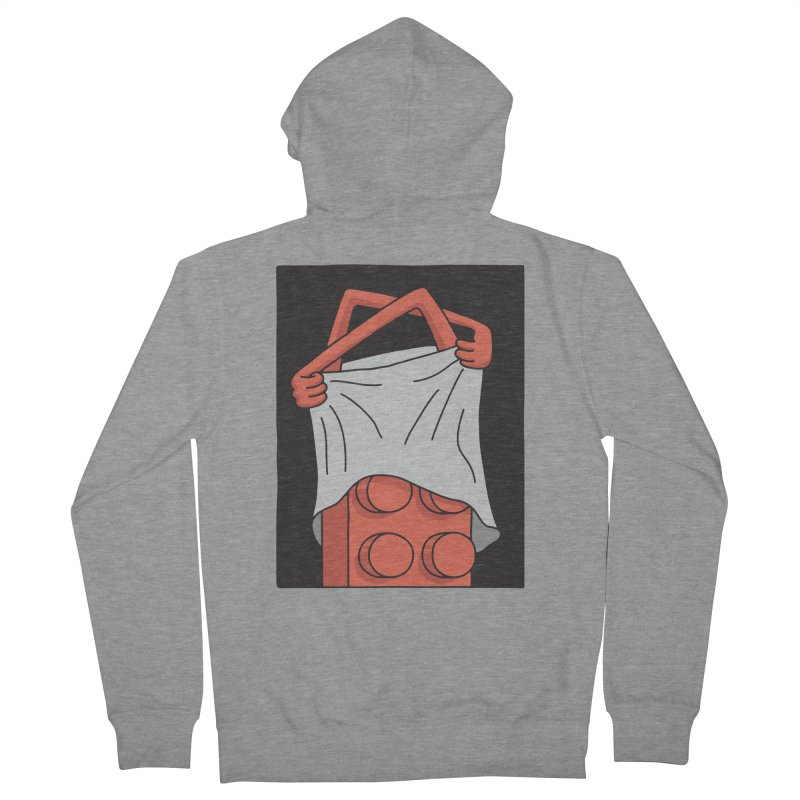 STRIP Women's French Terry Zip-Up Hoody by gotoup's Artist Shop