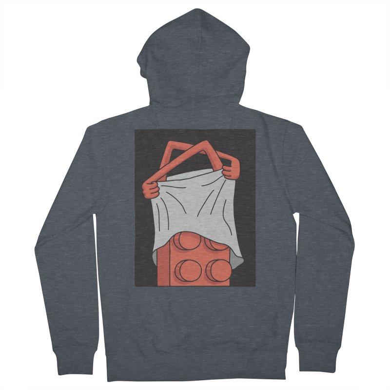 STRIP Men's French Terry Zip-Up Hoody by gotoup's Artist Shop