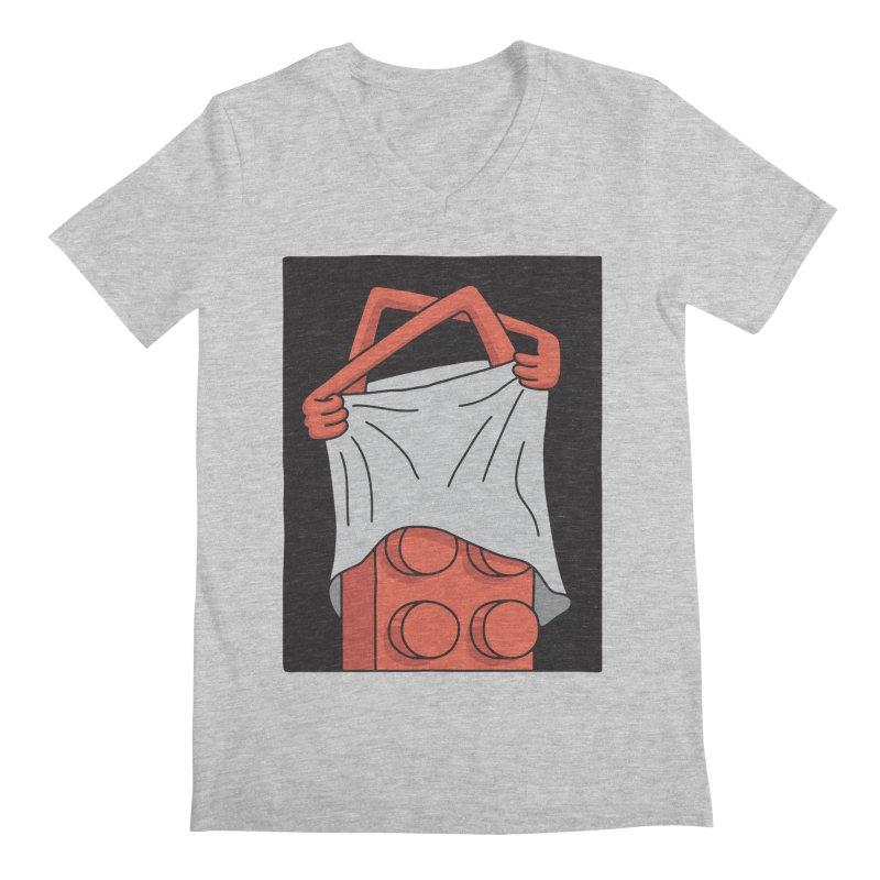 STRIP Men's Regular V-Neck by gotoup's Artist Shop