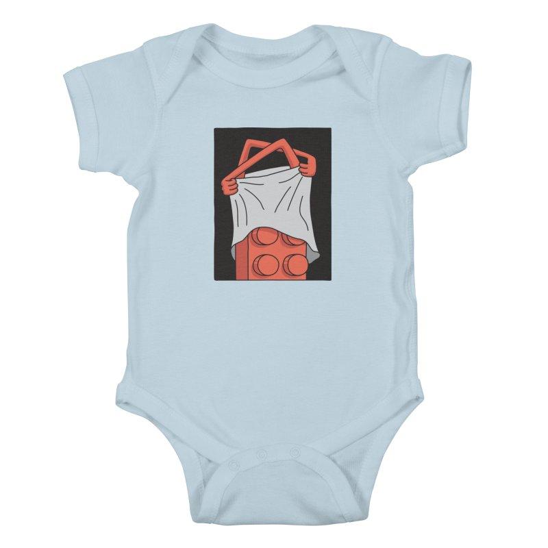 STRIP Kids Baby Bodysuit by gotoup's Artist Shop