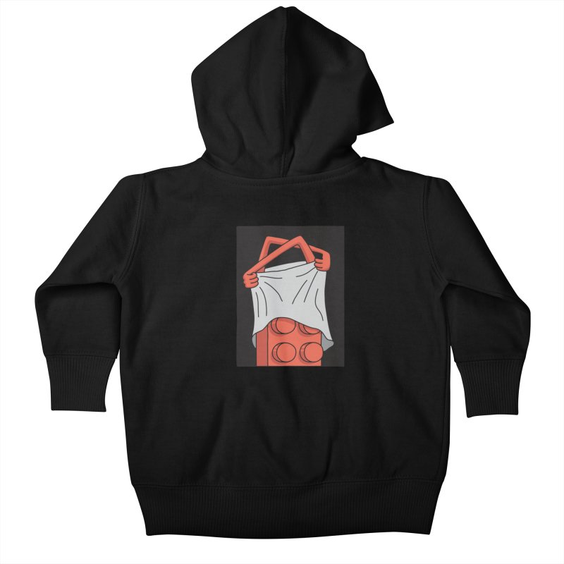 STRIP Kids Baby Zip-Up Hoody by gotoup's Artist Shop