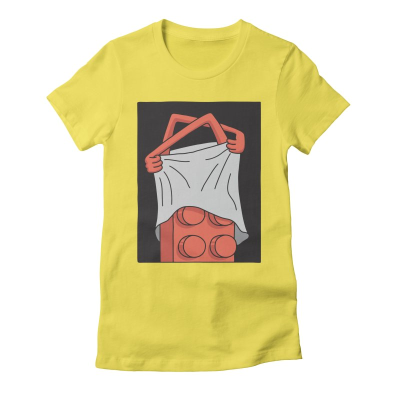 STRIP Women's Fitted T-Shirt by gotoup's Artist Shop