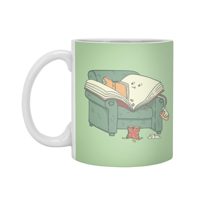 BOOK READS Accessories Standard Mug by gotoup's Artist Shop