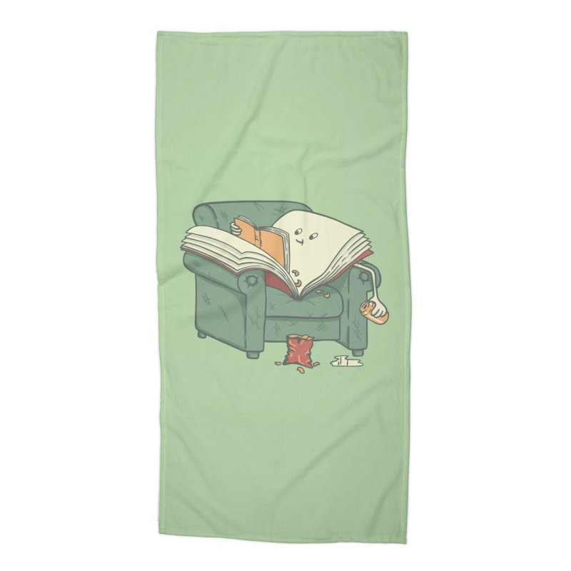BOOK READS Accessories Beach Towel by gotoup's Artist Shop