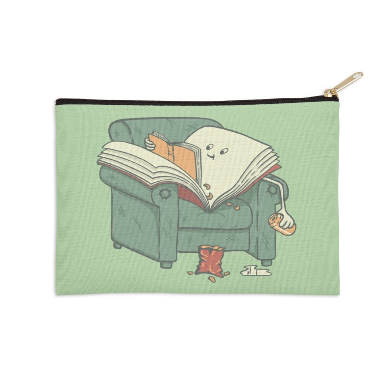 BOOK READS Accessories Zip Pouch by gotoup's Artist Shop