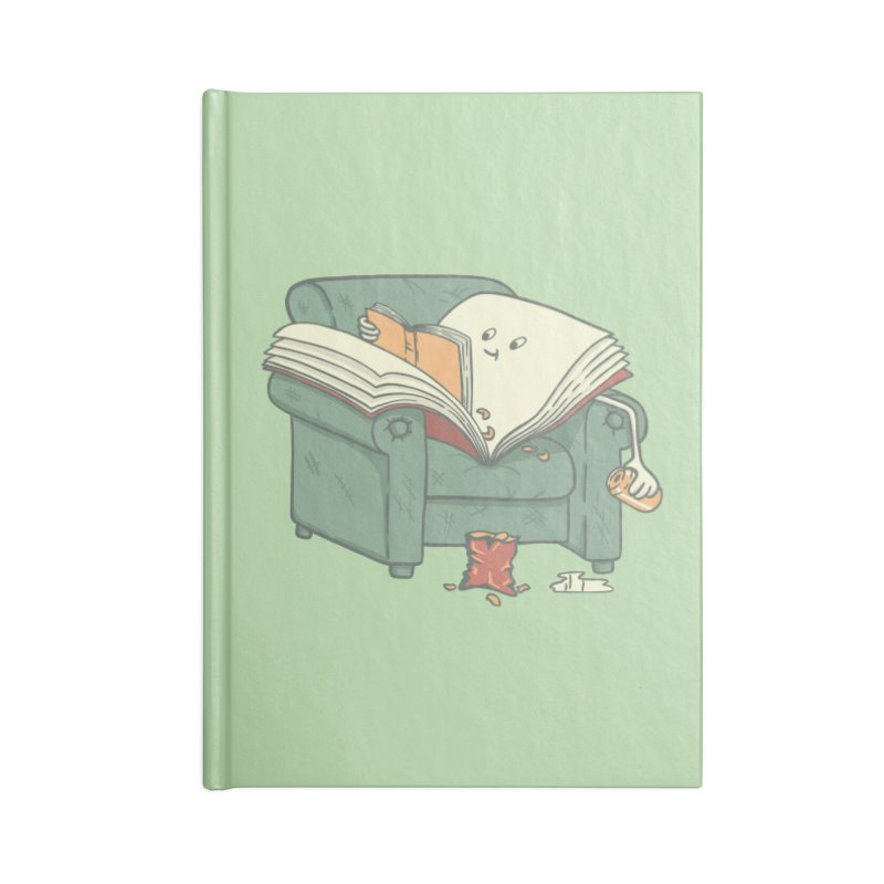 BOOK READS Accessories Blank Journal Notebook by gotoup's Artist Shop