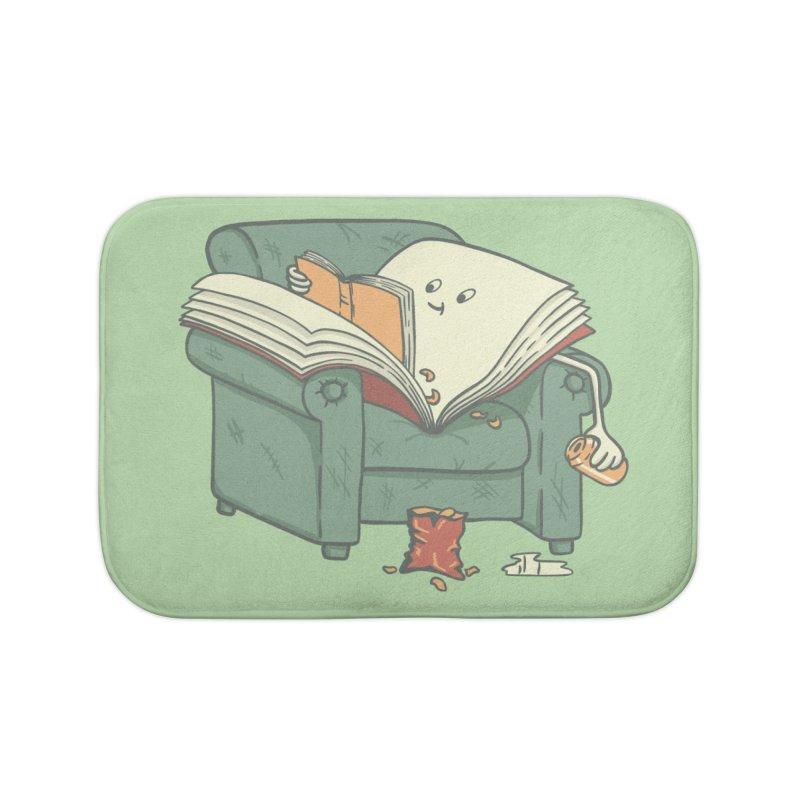 BOOK READS Home Bath Mat by gotoup's Artist Shop