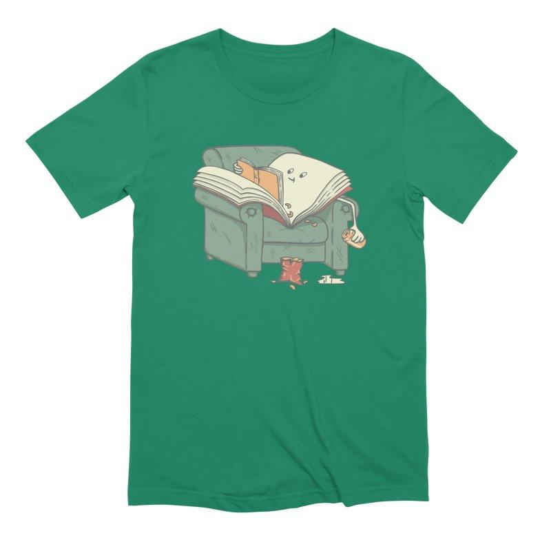BOOK READS Men's Extra Soft T-Shirt by gotoup's Artist Shop