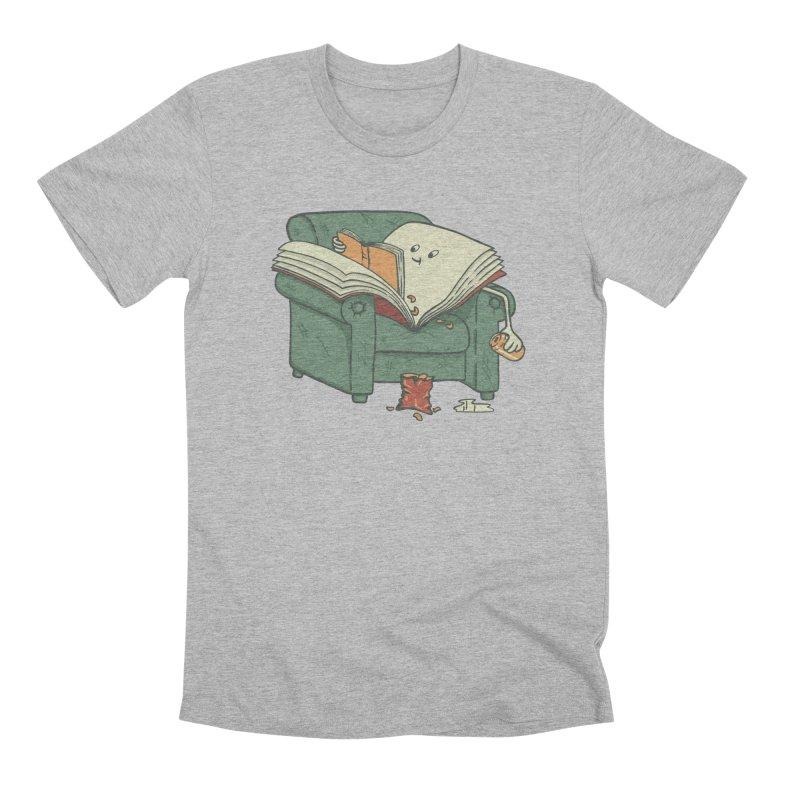 BOOK READS Men's Premium T-Shirt by gotoup's Artist Shop