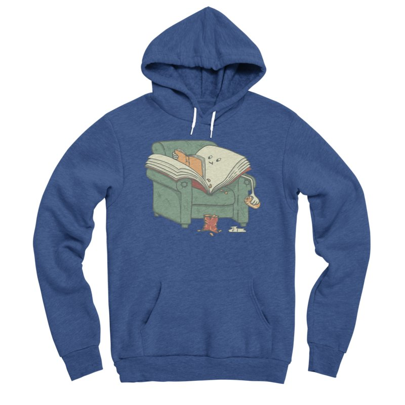 BOOK READS Women's Sponge Fleece Pullover Hoody by gotoup's Artist Shop