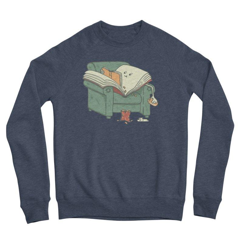 BOOK READS Men's Sponge Fleece Sweatshirt by gotoup's Artist Shop