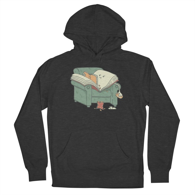 BOOK READS Women's French Terry Pullover Hoody by gotoup's Artist Shop