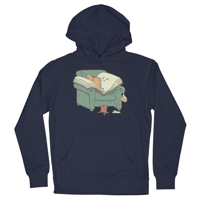 BOOK READS Men's French Terry Pullover Hoody by gotoup's Artist Shop