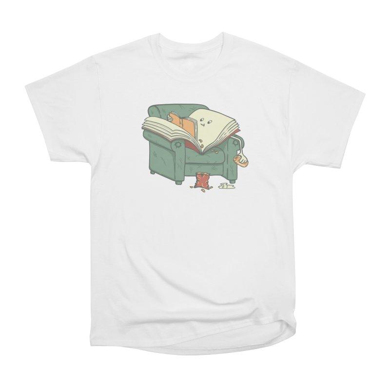 BOOK READS Men's Heavyweight T-Shirt by gotoup's Artist Shop