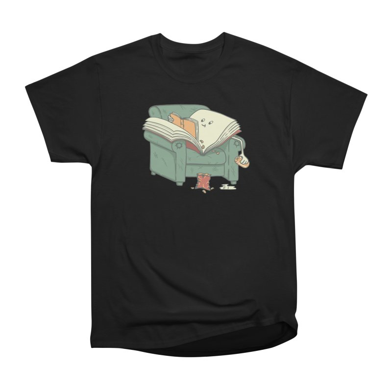 BOOK READS Men's Heavyweight T-Shirt by gotoup's Artist Shop