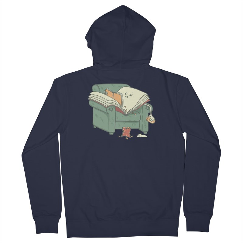 BOOK READS Women's French Terry Zip-Up Hoody by gotoup's Artist Shop