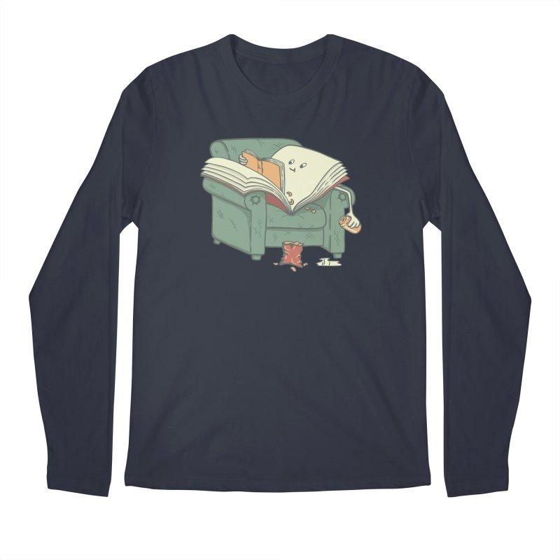 BOOK READS Men's Regular Longsleeve T-Shirt by gotoup's Artist Shop