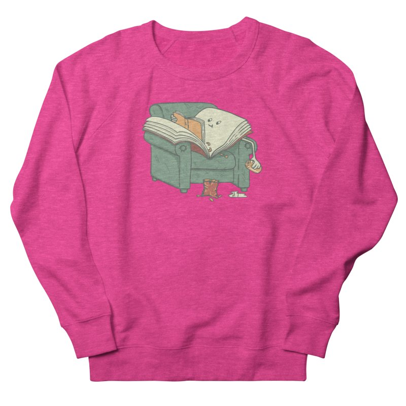 BOOK READS Women's French Terry Sweatshirt by gotoup's Artist Shop